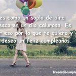 Felicitaciones de cumpleaños para un amor