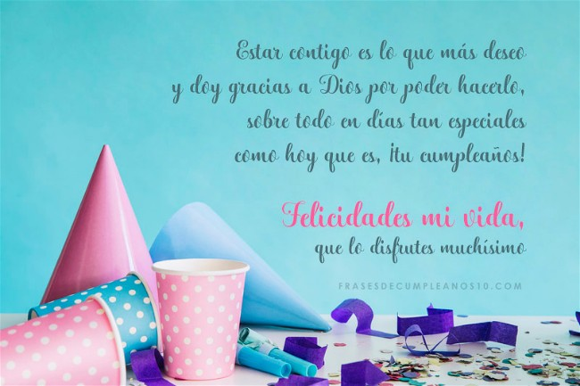 Frases De Cumpleaños Para Un Amor 150 Mensajes2019