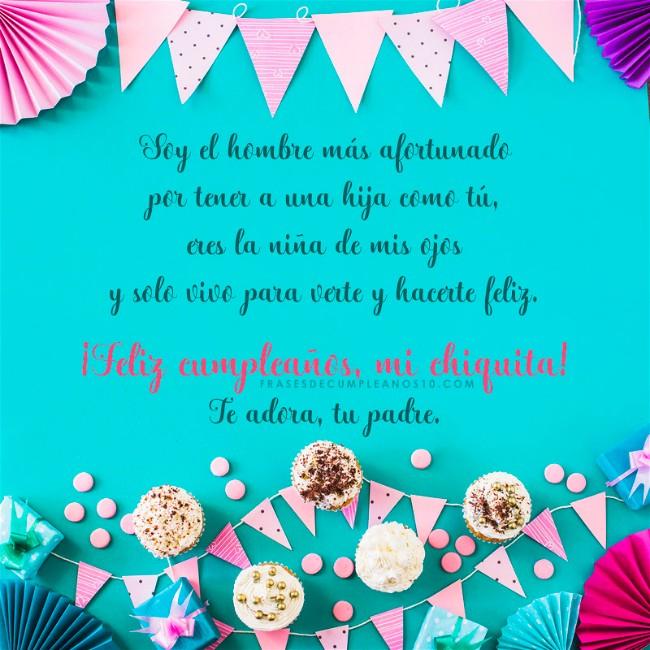 Frases De Cumpleaños Para Una Hija 150 Mensajes 2019