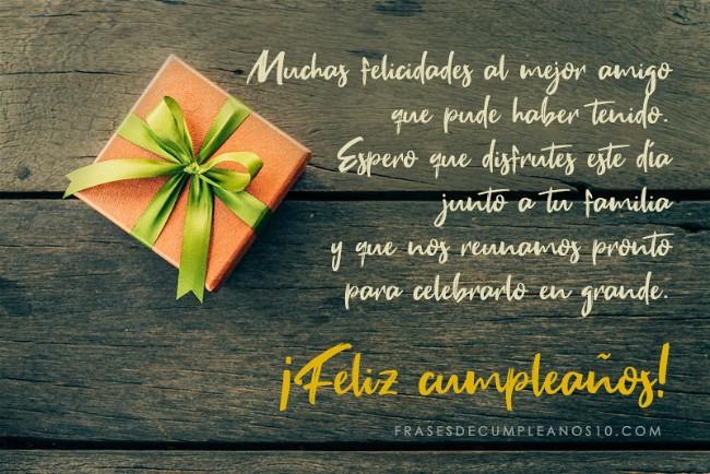 Frases De Cumpleaños Para Un Amigo 150 Mensajes2019