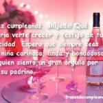 Frases de cumpleaños para una ahijada