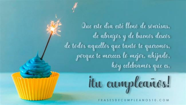 Frases De Cumpleaños Para Un Ahijado 150 Mensajes2019
