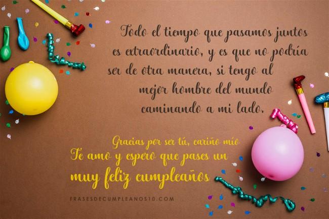 Frases De Cumpleaños Para Un Esposo 150 Mensajes2019