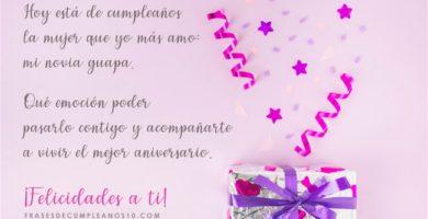 Frases De Cumpleaños Para Una Novia 150 Mensajes2019