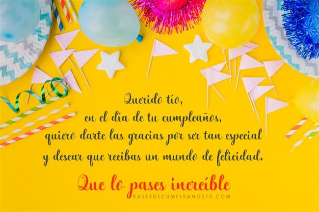 Frases De Cumpleaños Para Un Tío 150 Mensajes2019