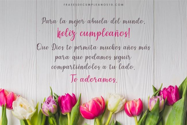Frases De Cumpleaños Para Una Abuela 150 Mensajes 2019